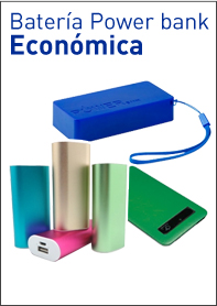 Baterias Power bank Economicas para regalos de empresa