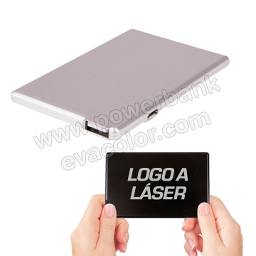 USB 8Gb con Power banks personalizados con su logotipo a todo color o laser