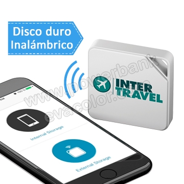 Disco duro inalambrico de 64 Gb para regalos empresariales exclusivos