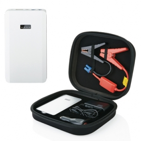 Arrancador automatico  para coches con Powerbank 5400mAh para recargar moviles y tables