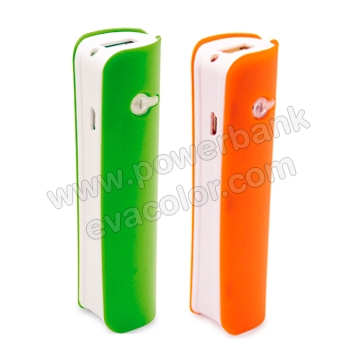 Power bank linterna de colores atractivos para regalos personalizados