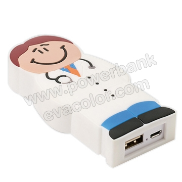 Baterias power bank  doctor  bombero enfermera