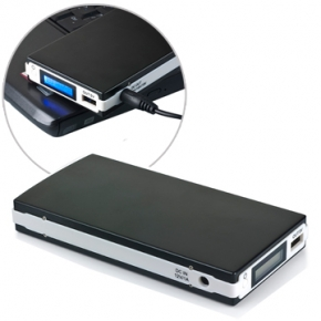 power bank alta capacidad de 13200 mAh para portatiles, tablets y moviles