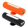 Bateria power bank silicona con cable micro USB para moviles
