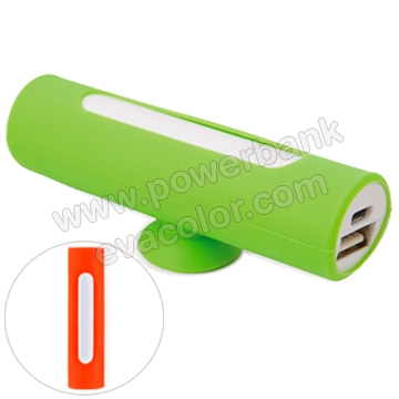 Power bank silicona de 2200mah para moviles