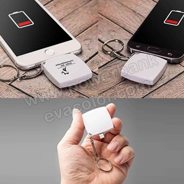 Mini cargador powerbank para regalar a clientes VIP con moviles iPhone