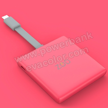Mini power bank para emergencias moviles iPhone o android