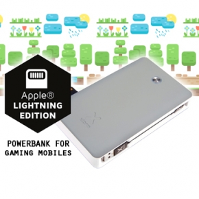 Power bank 17000mAh compatible con dispositivos Apple y ordenadores MacBook Air