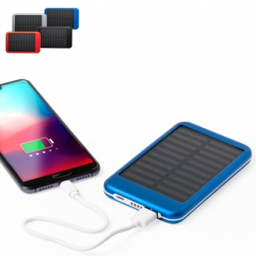 Power bank solares para regalos sostenibles personalizados