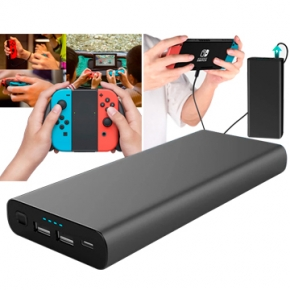 Power bank USB C el mejor powerbank para portatil y video consolas