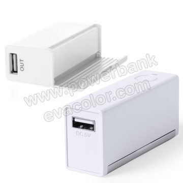 Mini Powerbank 2200mAh con soporte plegable para pantalla tactiles