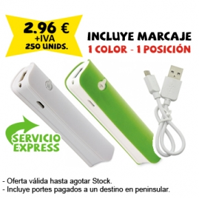 powerbank linterna