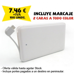 Powerbank plano