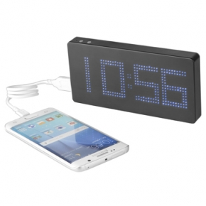 Powerbank reloj LED