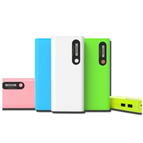 Tablet Powerbank verde azul rosa pistacho blanco