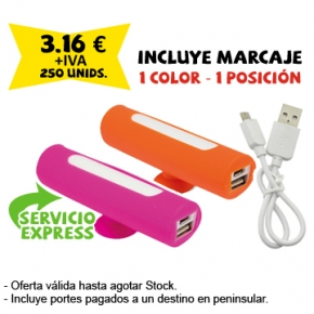 powerbank ventosa