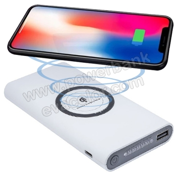 Powerbank wireless 10000 mAh para moviles con tecnologia Q